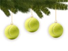 Tennis-Weihnachten